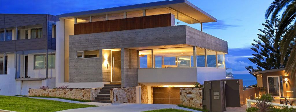 SMARTHOMEWORKS - smarthome home automation Sydney - beautiful house in the dusk
