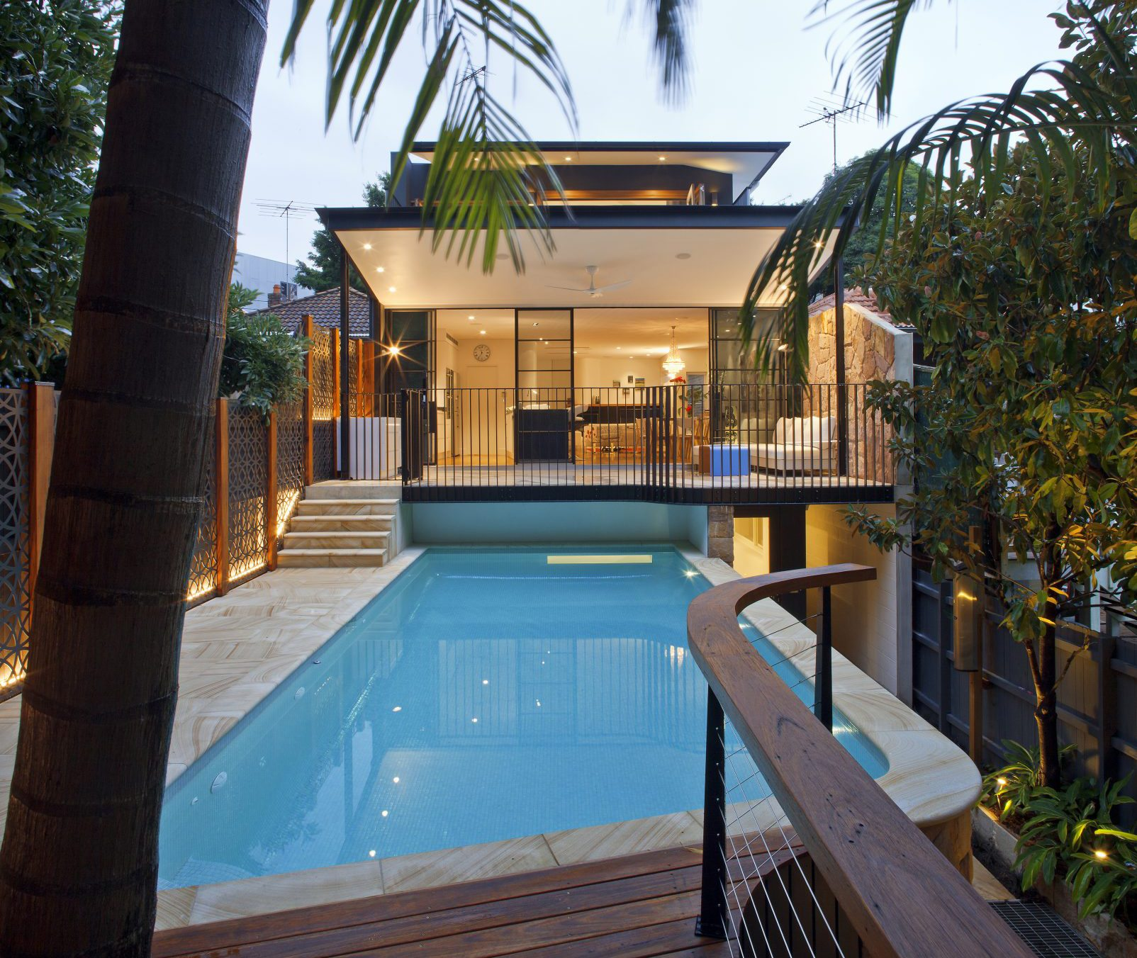 SMARTHOMEWORKS - smarthome home automation Sydney - house with pool