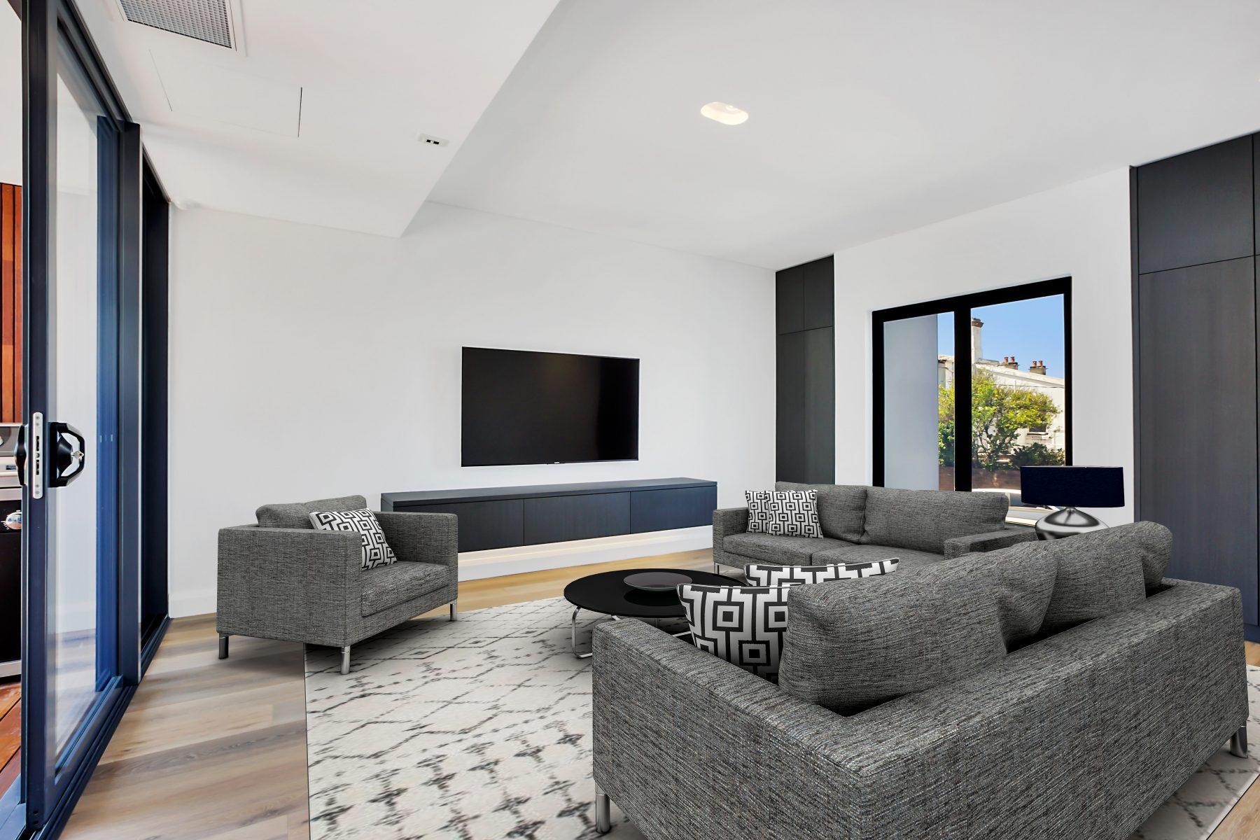 smarthome australia living room