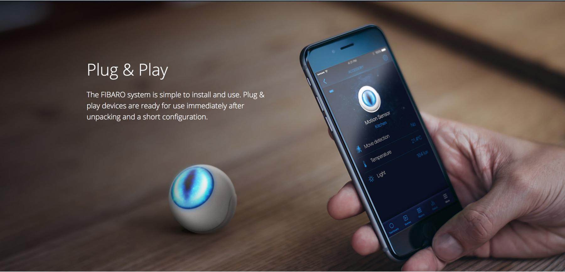 Plug & Play Fibaro - Smarthomeworks