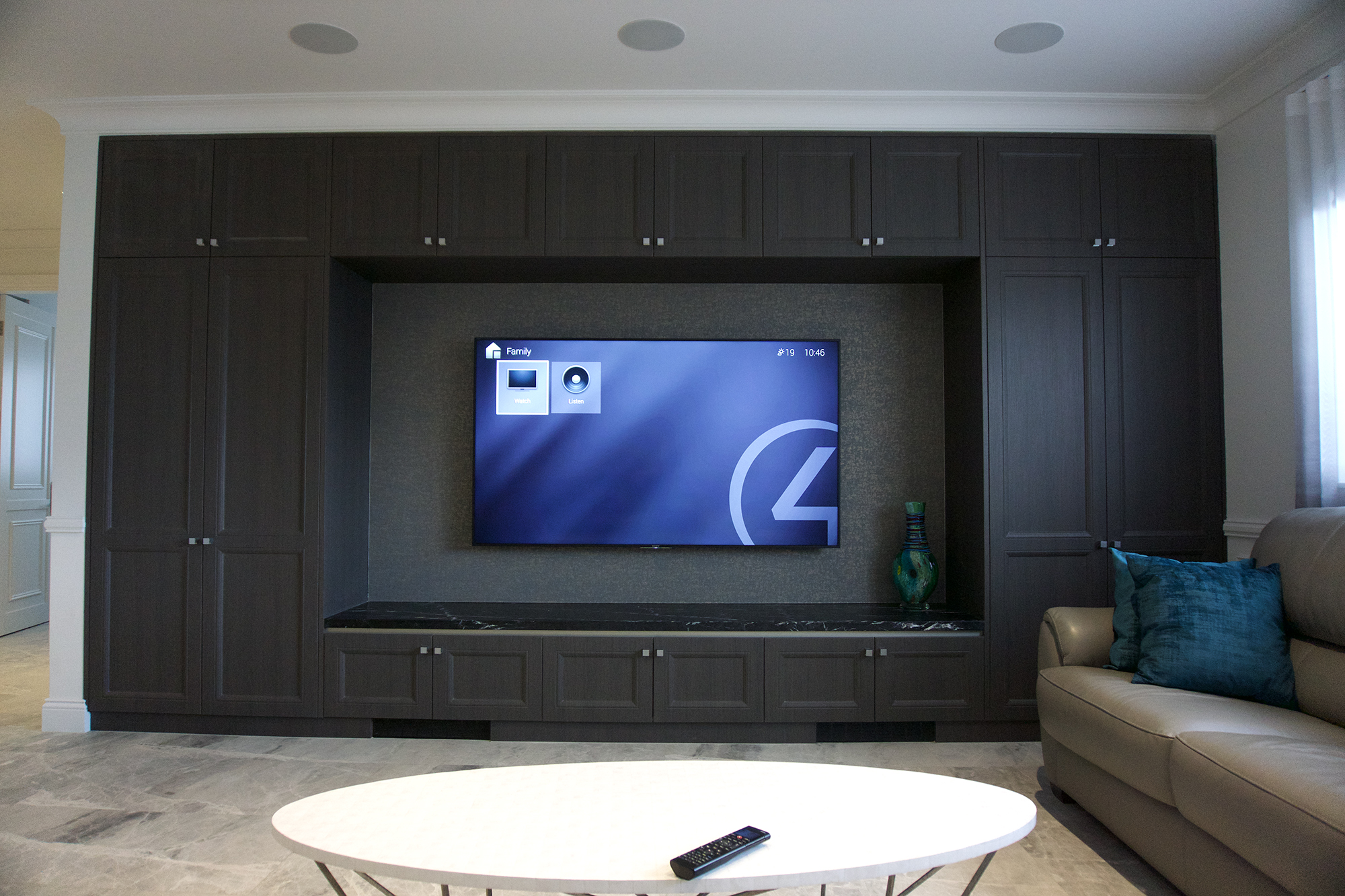 smart home theatre installation