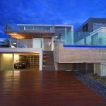 "alt=""SMARTHOMEWORKS - smarthome home automation Sydney - modern house design rear view"""